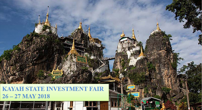 Kayah State Investment Fair during 26 - 27 May 2018