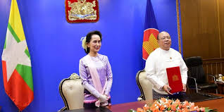 Myanmar joins Regional Comprehensive Economic Partnership (RCEP) by Ministry of Investment and Foreign Economic Relations (MIFER)