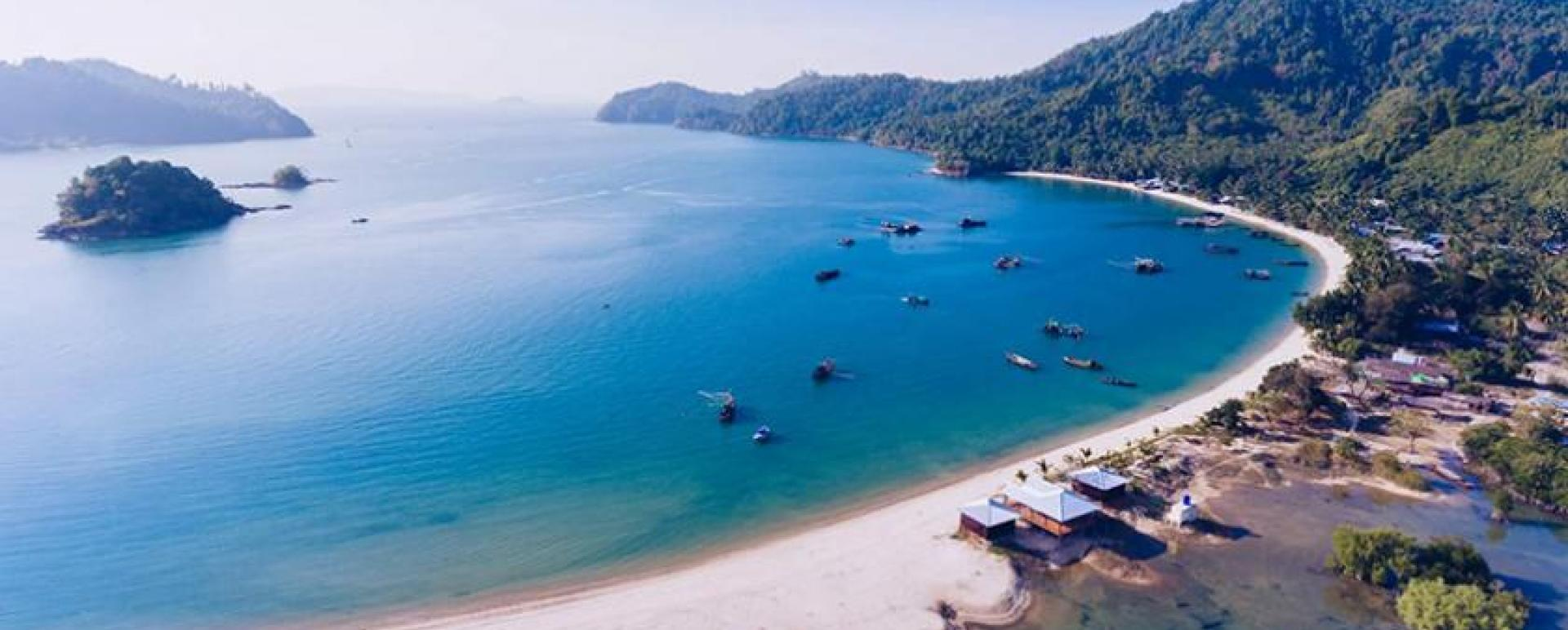 The first Myanmar's community-based tourism (CBT) island opened at Don Nyaung Hmaing village in Kyunsu Township, Tanintharyi Region