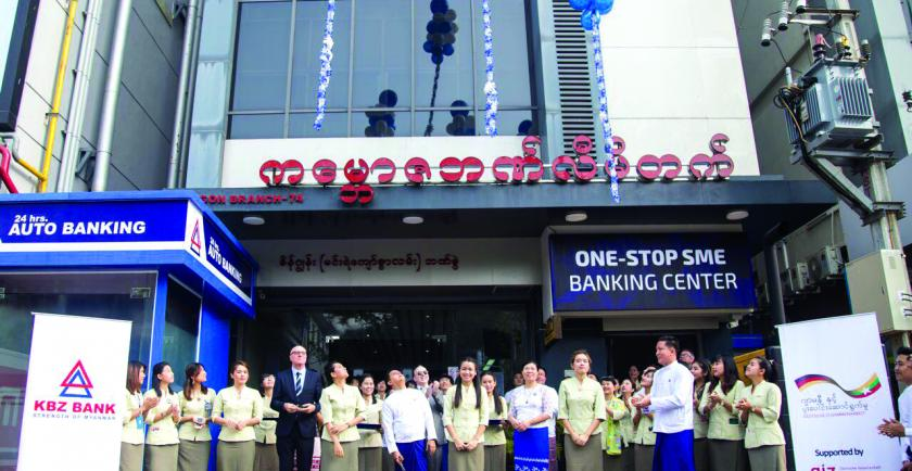 Kanbawza Bank (KBZ) unveiled a new One-Stop SME banking centre to provide greater financial inclusion in Yangon