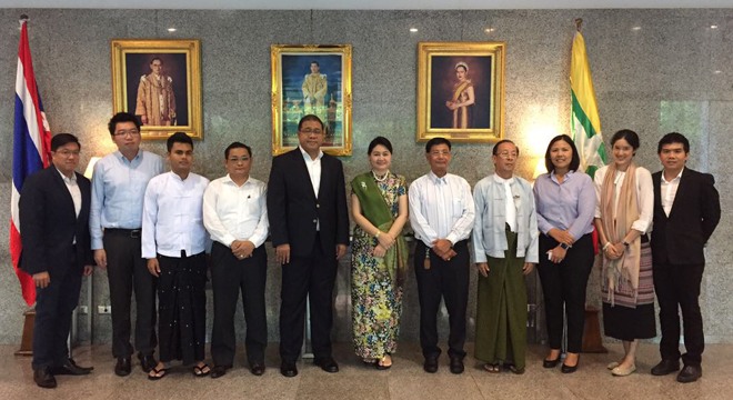 Thai Ambassador Promotes Thai-Myanmar Business Collaboration on Construction  and Infrastructure