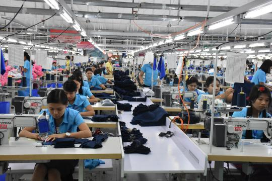 To promote the garment sector and increase exports of the highest quality to the international market, the government and Myanmar Garment Entrepreneurs' Association set a 10 year strategy