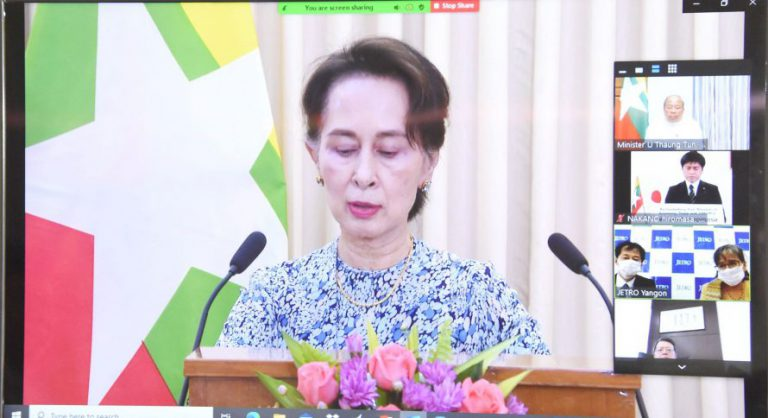 Myanmar government invited investments for the new economic zone in Mon State and industrial park in the west of Yangon