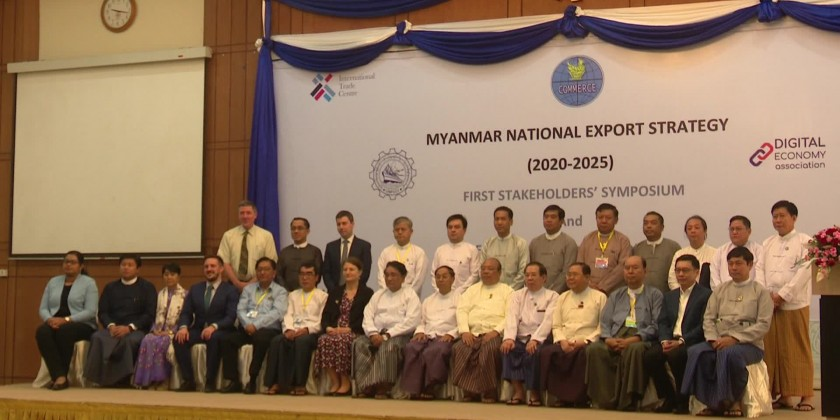 The first stakeholders' symposium for updating the National Export Strategy (NES) was held at UMFCCI to boost Myanmar's Export performance in the global economy
