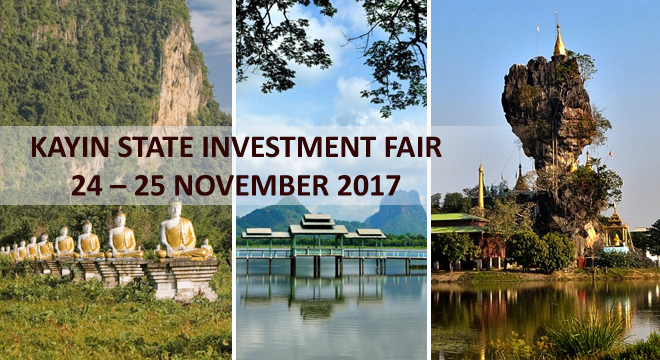 Kayin State Investment Fair during 24 - 25 November 2017