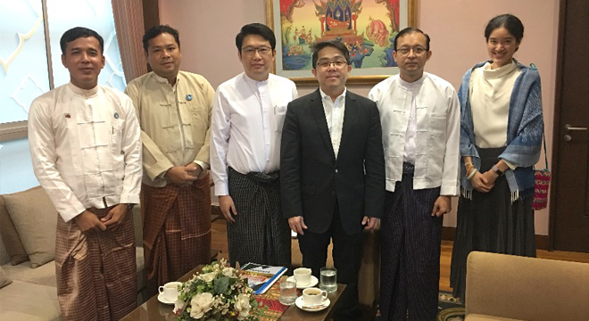 Royal Thai Embassy Discusses Thai-Myanmar Collaboration with the Myanmar Ethnic Entrepreneurs' Association