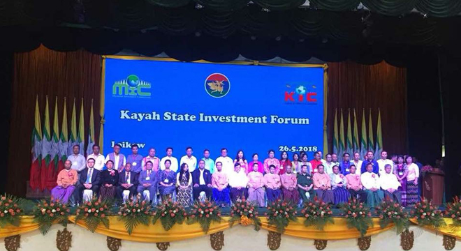Ambassador  Leads Thai Business Delegation to Kayah State Investment Forum