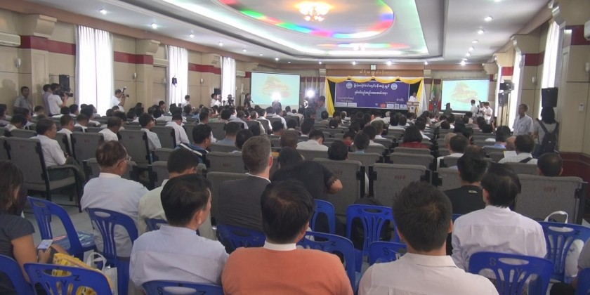 The annual meeting of Myanmar Fisheries Federation (MFF) was