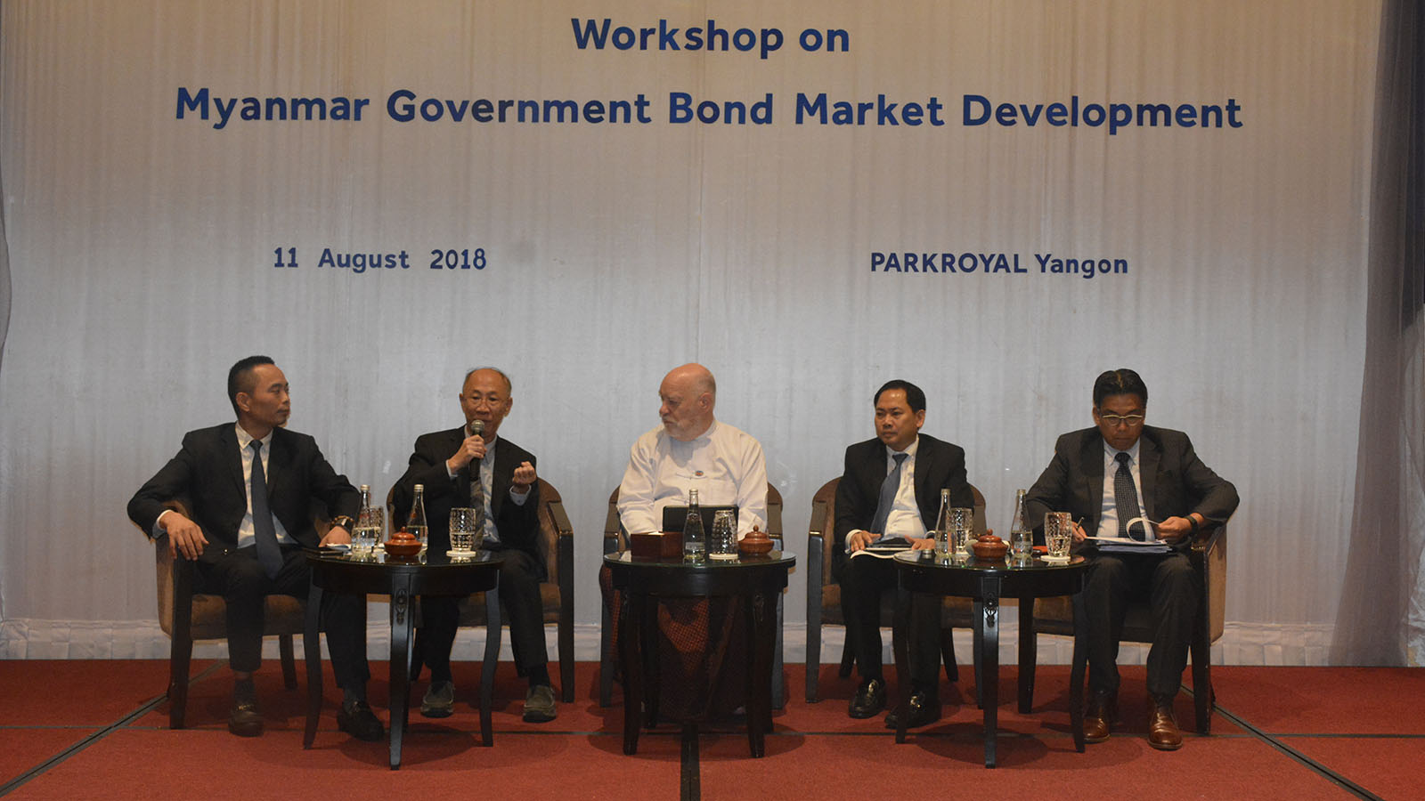 Fourth workshop of Myanmar- Japan Joint Committee was held at Yangon Stock Exchange (YSX) with the aim to develop the bond market