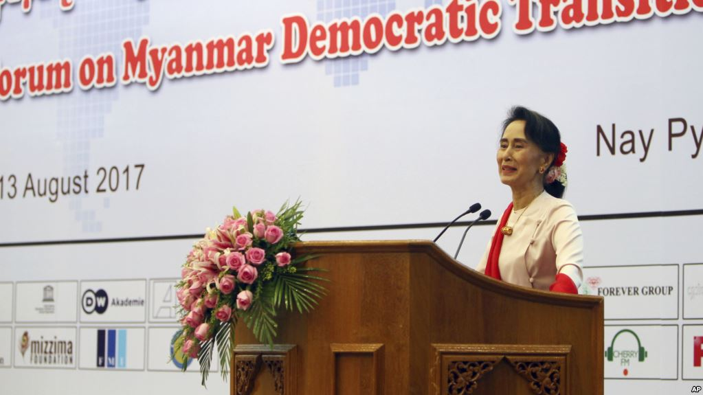 Non-paper-20 August 2017 Myanmar's Democratic Transition Forum
