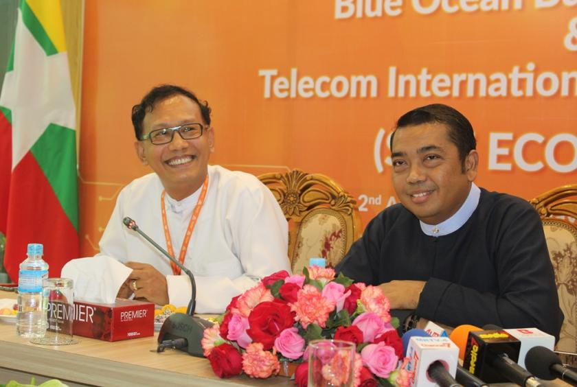 Telecom International Myanmar Co (Mytel) signed an agreement with locally owned Blue Ocean Business Services Co.,, to establish digital ecosystem for Small and Medium Enterprises (SMEs) in Myanmar
