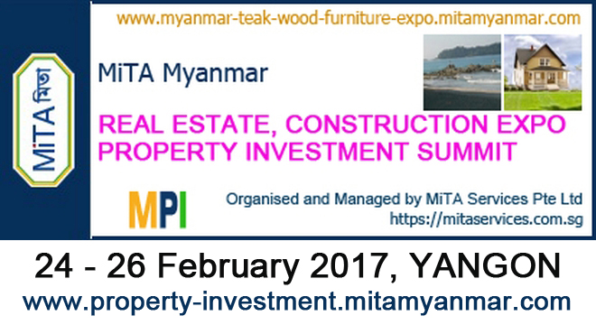 MYANMAR PROPERTY INVESTMENT CONSTRUCTION EXPO -  MPI 2017