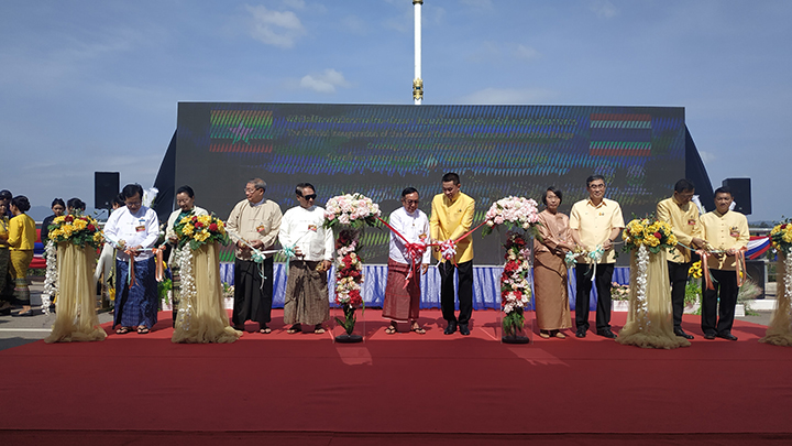 Myanmar and Thailand second friendship bridge cross Thaungyin river linking Myawady township of Kayin State with Mae Sot district of Tak Province was opened yesterday