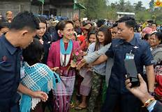 State Counsellor has promised that her government will make the final decision on the Myintsone dam and other projects from wider perspective
