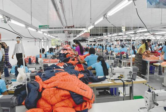 From April to September 2018, CMP garment export earnings reached USD$ 2.2 billion, exceeding over USD $ 1 billion when compared to the same period of last fiscal year